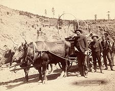 Old West Gold Prospectors 1889 Photo Print for Sale
