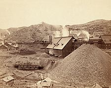 Old West Mills & Mines South Dakota 1889 Photo Print for Sale