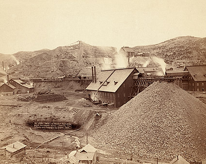 Old West Mills & Mines South Dakota 1889 Photo Print