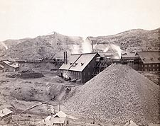 Old West Mining Factory Homestake Works Photo Print for Sale