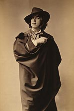 Oscar Wilde 3/4 Length Sarony Portrait 1882 Photo Print for Sale
