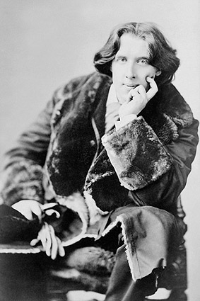 Oscar Wilde Seated Sarony Portrait 1882 Photo Print