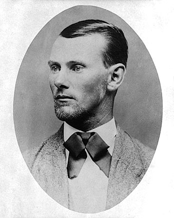 Outlaw Jesse James Photo Print