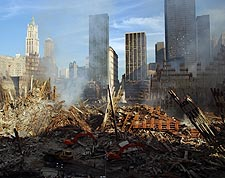 Overview of World Trade Center 9/11 Photo Print for Sale