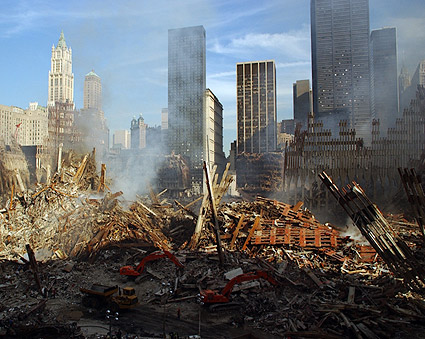 Overview of World Trade Center 9/11 Photo Print