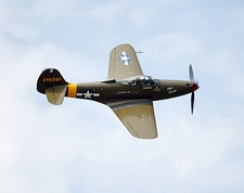 P-39 Airacobra WWII Fighter Aircraft Photo Print