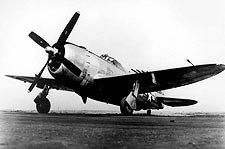 P-47 Thunderbolt Fighter Ground View WWII Photo Print for Sale