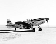P-51 Mustang on Ramp W/Engine Photo Print for Sale