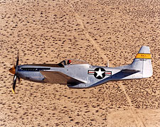 P-51 Mustang Restored in Flight Photo Print for Sale