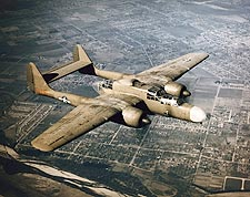 P-61 Black Widow in Flight US Air Force Photo Print for Sale