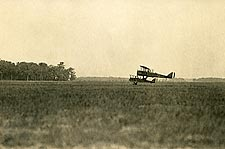 Pair of French Biplanes with Airship WWI Photo Print for Sale