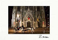 Personalized St. Patrick's Cathedral, New York City Christmas Cards