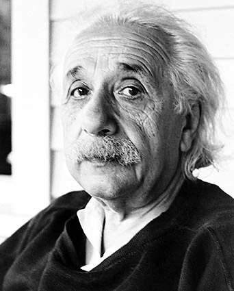 Physicist Albert Einstein Portrait Photo Print