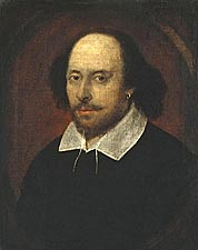 Playwright William Shakespeare Portrait Photo Print for Sale