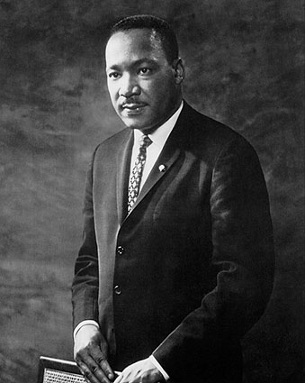 Portrait of Dr. Martin Luther King, Jr. Photo Print