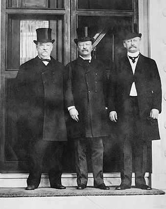 Pres. Grover Cleveland & Teddy Roosevelt Photo Print