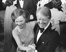 President Jimmy Carter & First Lady White House Photo Print for Sale