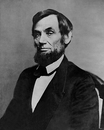 President Abraham Lincoln 1862 Portrait Mathew Brady Photo Print