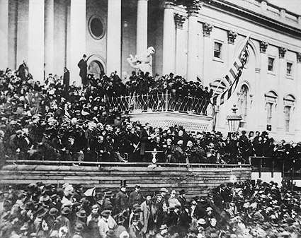 President Abraham Lincoln 2nd Inauguration Photo Print