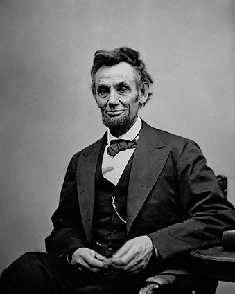 President Abraham Lincoln 3/4 Length Portrait Photo Print