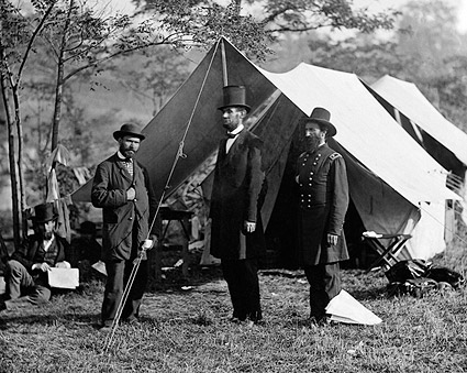 President Abraham Lincoln Civil War 1862 Photo Print