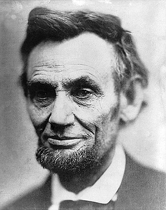 President Abraham Lincoln Last Portrait Photo Print