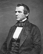 President Andrew Johnson Portrait Photo Print for Sale