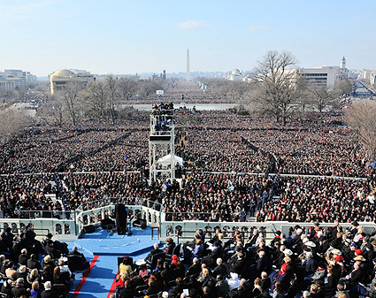 President Barack Obama Inaugural Address Photo Print