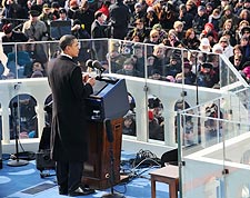 President Barack Obama Inaugural Address 2009 Photo Print for Sale
