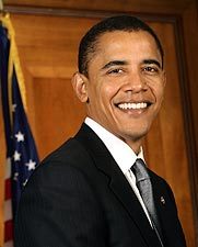 President Barack Obama Portrait Photo Print for Sale