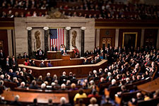 President Barack Obama State of the Union Address 2010 Photo Print for Sale