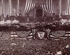 President Benjamin Harrison Oath of Office Photo Print