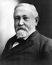 President Benjamin Harrison Portrait, 1897 Photo Print for Sale