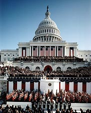 President Bill Clinton Inauguration 1993 Photo Print for Sale