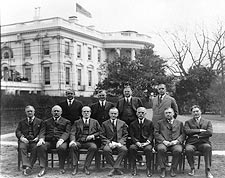 President Calvin Coolidge & Cabinet Photo Print for Sale