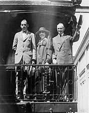 President Calvin Coolidge on Campaign Trail Photo Print for Sale