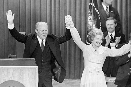 President Ford & Betty Ford Republican National Convention Photo Print