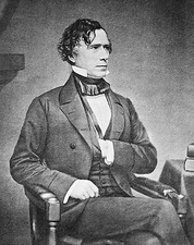 President Franklin Pierce Seated Photo Print