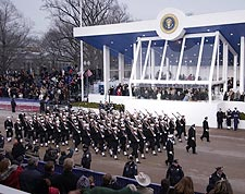 President George W. Bush Inaugural Parade Photo Print for Sale