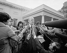 President Gerald Ford White House 1975 Photo Print for Sale