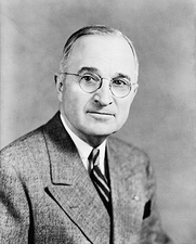 President Harry S Truman Official Portrait Photo Print