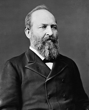 President James Garfield Brady Portrait Photo Print