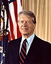 President Jimmy Carter Official  Portrait Photo Print