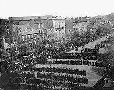 President Lincoln Funeral Procession 1865 Photo Print for Sale