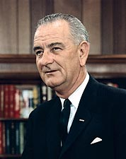 President Lyndon B. Johnson Portrait 1965 Photo Print for Sale
