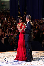 President Obama and First Lady at Inaugural Ball 2013 Photo Print for Sale