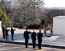 President Obama and VP Joe Biden Tomb of the Unknowns Photo Print for Sale