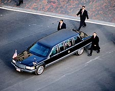 President Obama's Limousine at Inauguration 2009 Photo Print for Sale