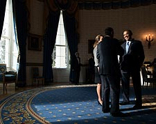President Obama with Speaker John Boehner at White House Photo Print for Sale