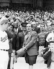 President Richard Nixon Tossing Baseball Photo Print for Sale